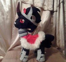 King Sombra Plush by IrashiRyuu