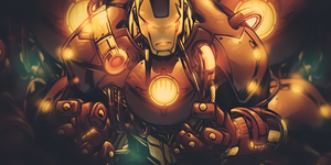 Iron Man by ThunderBR