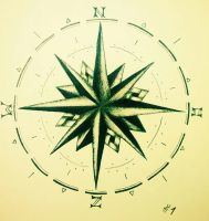 compass  by amykuyper