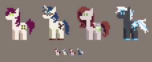 [CLOSED] - Tiny Pony Adopts by Featheries