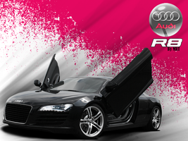 Wallpaper Audi R8 by MRT by MRTTQM
