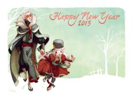 Happy New Year 2013 by Nephyla