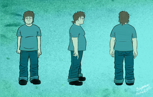 Jake-Character Design by BenjaminForsell