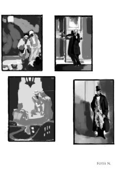 Composition studies part 2 by TakasArt
