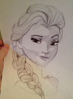 FROZEN: Elsa by JDMD-54