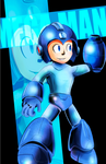 Mega Man by Mariolord07