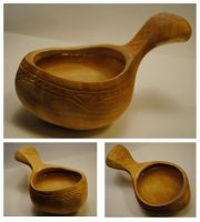 6th wooden cup by JOVictory
