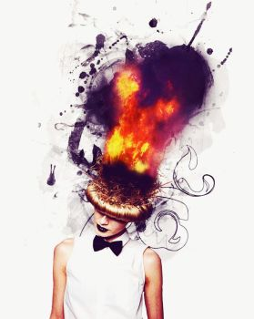 Burning Thoughts by reve-vivant