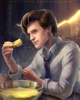 Fishfingers and Custard_Doctor Who 11th by pastellZHQ