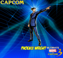 Phoenix Wright New Wallpaper 2 by CrossoverGamer