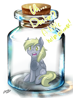 Fresh Bottled Derpy by MylittleSheepy