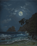 Yet another beach at night... by jgospo00