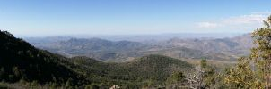 Panorama up Mt Ord by starkt2k