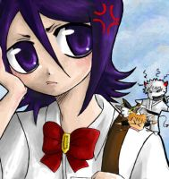 Rukia and the Ichigos by lainchan