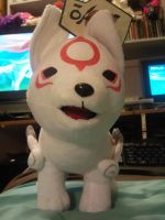 Chibiterasu Okamiden Plush by Skunk-Mantra
