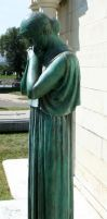 Mount Olivet Cemetery Woman 86 by Falln-Stock