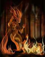 Fire Spirit by PixlPhantasy