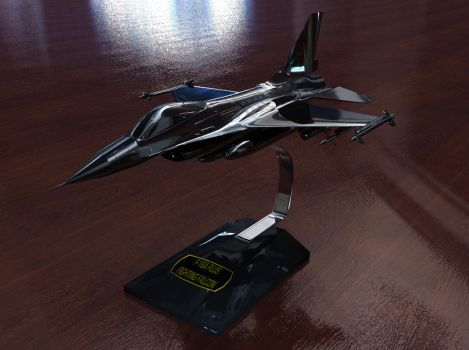 F16 metal model by Deejayqt