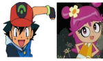 Ash and Ami Fan Stamp by SmoothCriminalGirl16