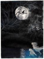 Nightbird's song by Wolverica