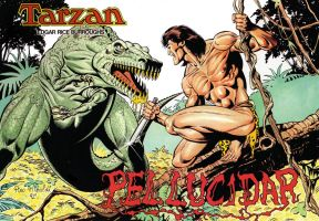TARZAN Pellucidar cover 1992 by PinoRinaldi