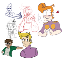 eddsworld doodles 2 by apolloslyres
