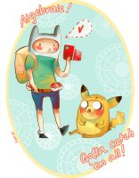 Pokemon Time by KimNipp