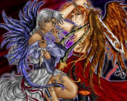 Divinitas - The Offensive Duo by caleyndar
