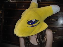 Renamon Cosplay Head by titanstargirl