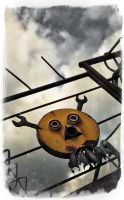 Smiley Pirate Ship Decoreation by BrknRib