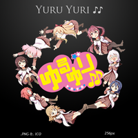 Yuru Yuri S2 - Anime Icon by duckne55