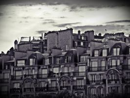 Les Toits De Paris by cuae