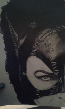 Catwoman by Naerwen