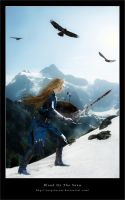 Blood on the snow-Glorfindel by Netprincess