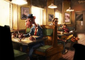 Guess Who's coming to Dinner? by CoolSurface