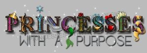 Logo for Princesses with a Purpose by Durnesque