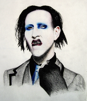 Marilyn Manson by ynist