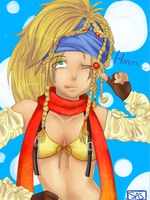Think, Rikku. by LadyOfSodas