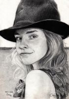 Emma Watson 2 by cindy-drawings
