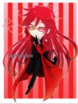 Grell Chibi COMMISSION by DKSTUDIOS05
