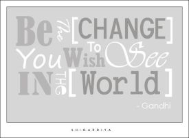 Be The Change by q8-princess