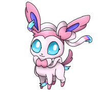 Sylveon by PinkyMaggie