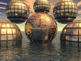 Wicked cool Spheres by docx