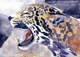 Jaguar-20min challenge- by Si3art