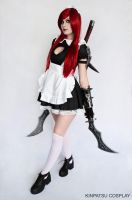 Maid Katarina by Kinpatsu-Cosplay