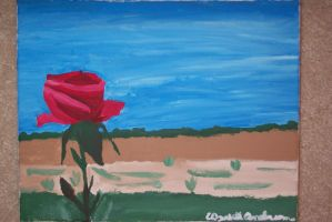 Rose On The Prarie by bueatiful-failure