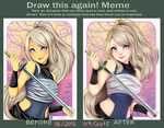 Draw this again meme 4 by Nataliadsw