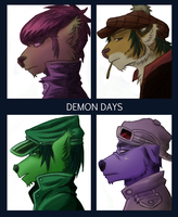 Furry Gorillaz by lepatchi