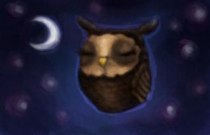 Owl by DriveByArtist