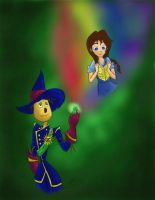 Legends Of Oz: A Small Rainbow and a Big Smile by jgtcreateflb
